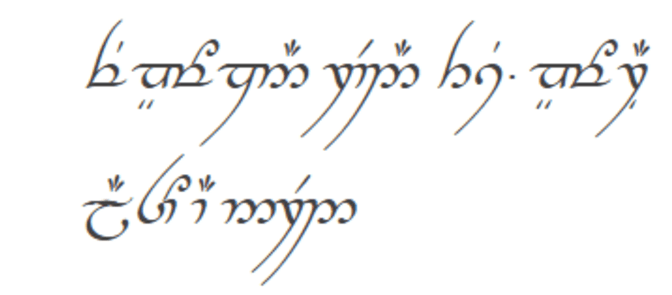 constructed languages elvish